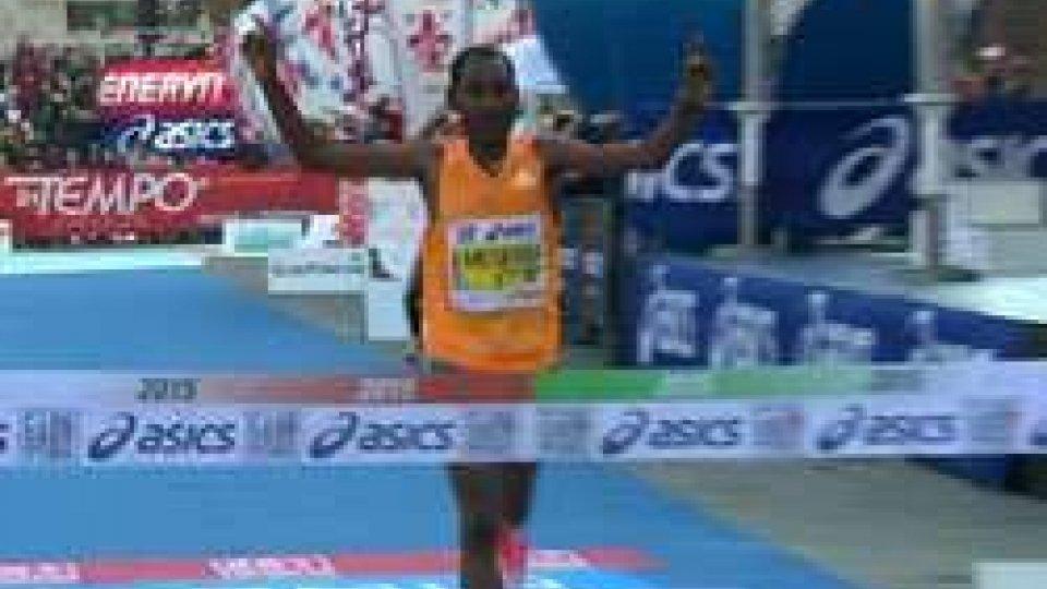 Maratona Firenze 2015: 9.000 al via,  vince l'etiope Tujuba Beyu MegersaMaratona Firenze 2015: 9.000 al via,  vince l'etiope Tujuba Beyu Megersa