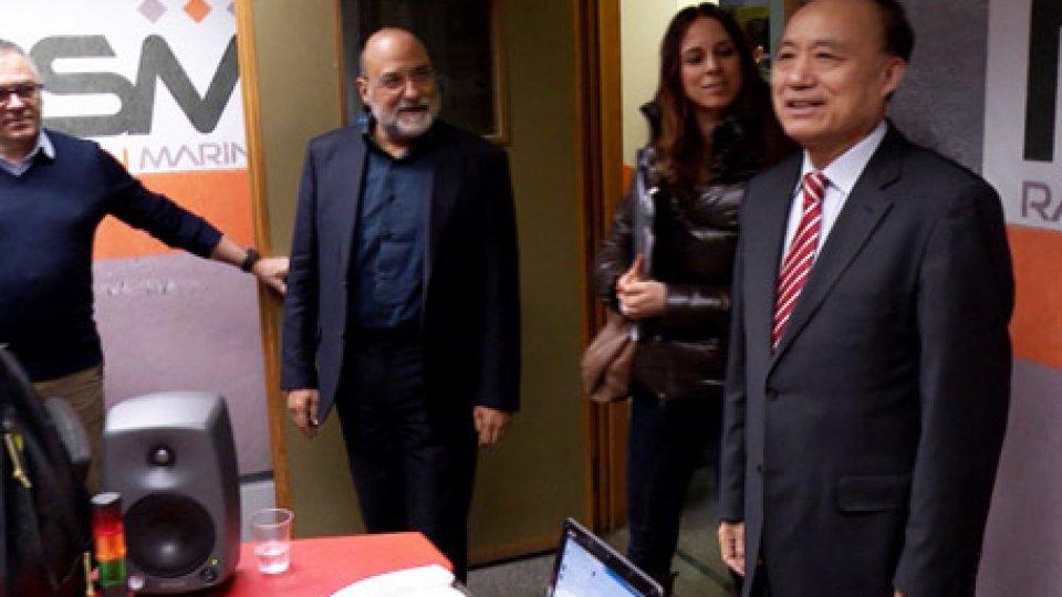 Houlin Zhao in visita a RTV con il Dg Carlo RomeoTelecomunicazioni: in visita in Repubblica il Segretario Generale dell'UIT