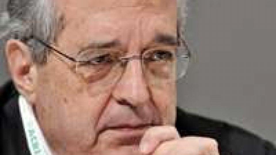 """Saccomanni su S&P: """"decisioni che possono destabilizzare"""""""