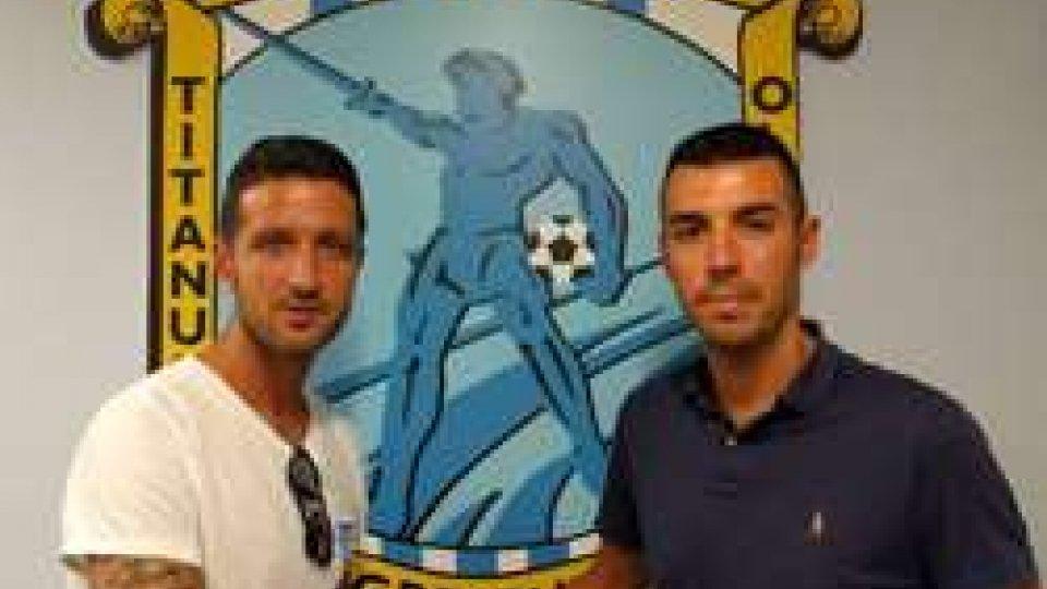 Roberto Di Maio a sinistra