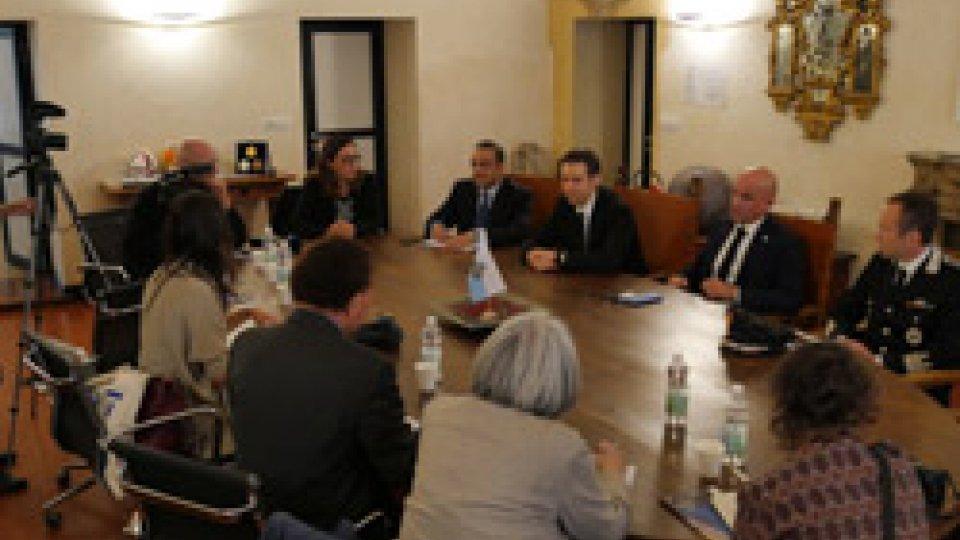 Incontri e iniziative istituzionali con il Corpo Diplomatico e rappresentanti della Stampa Estera