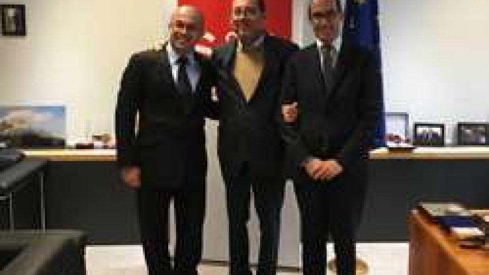 Bruxelles: Celli e Renzi incontrano il presidente Gianni Pittella