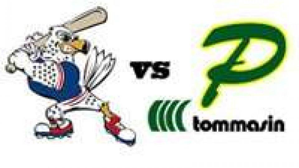 Baseball, live score T&A San Marino- Tommasin Padova