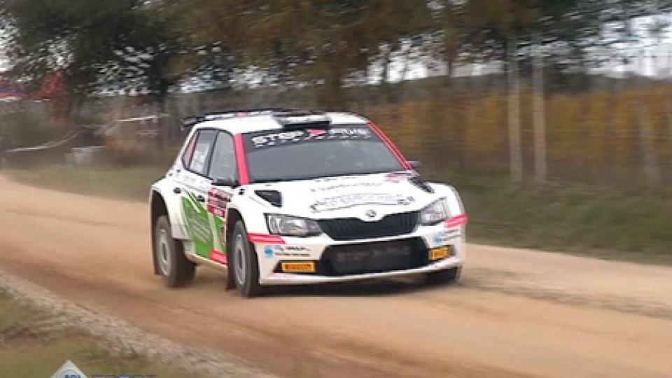 Tuscan Rally: Mauro Trentin ha vinto il Tricolore TerraTuscan Rally: Mauro Trentin ha vinto il Tricolore Terra