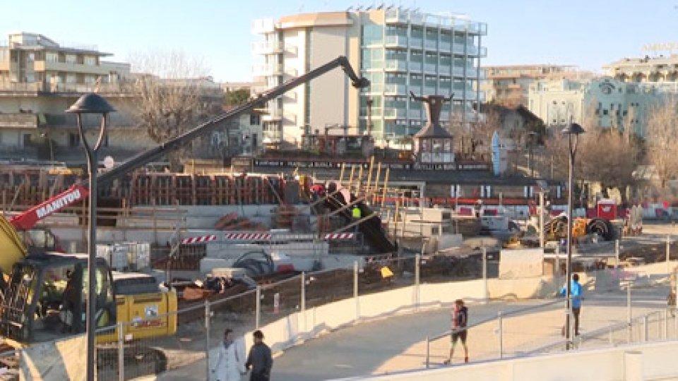 Lavori in corso sul marePer Rimini il 2019 sarà l'anno decisivo per l'attuazione del Piano di Salvaguardia della Balneazione Ottimizzato
