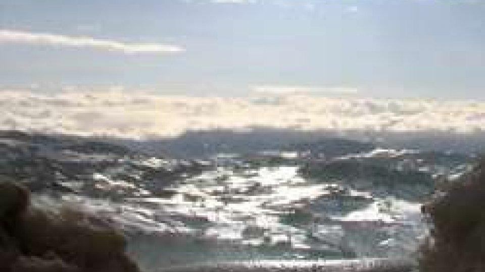 Vista da San Marino CittàMaltempo: ormai il peggio è alle spalle
