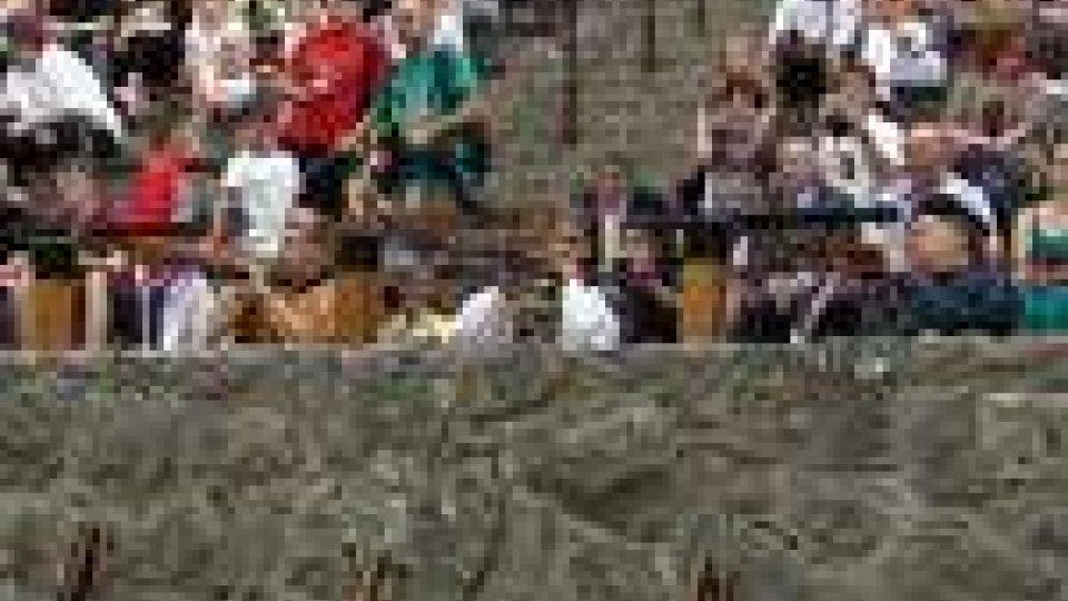 San Marino - Alla Cava il torneo di Tiro alla Balestra