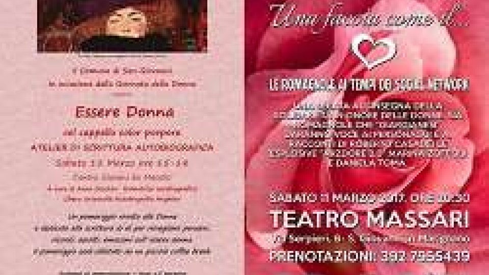 #8Marzo, le donne protagoniste a San Giovanni in Marignano anche nel weekend