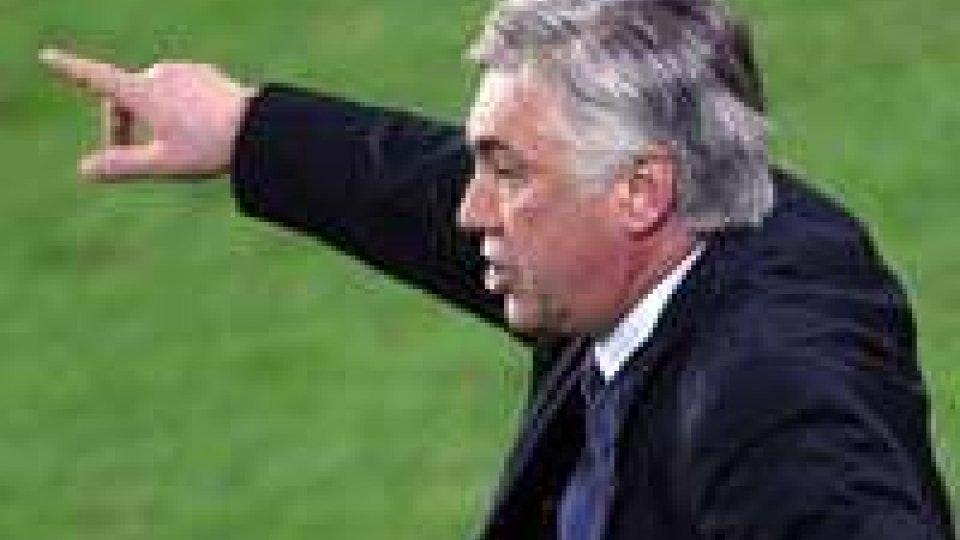Primo giorno di lavoro per Carlo Ancelotti