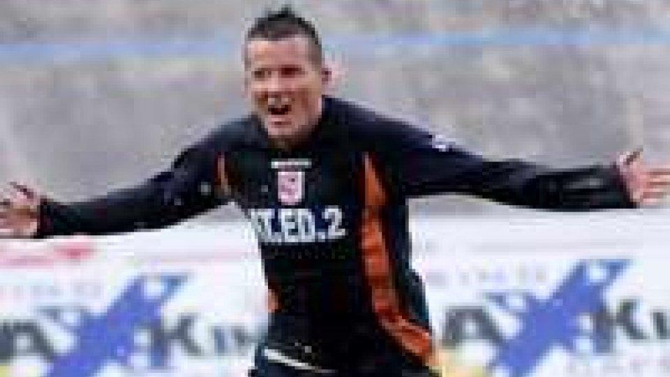 Sebastian Petrascu, capocannoniere della scorsa Serie D con la maglia del Forlì