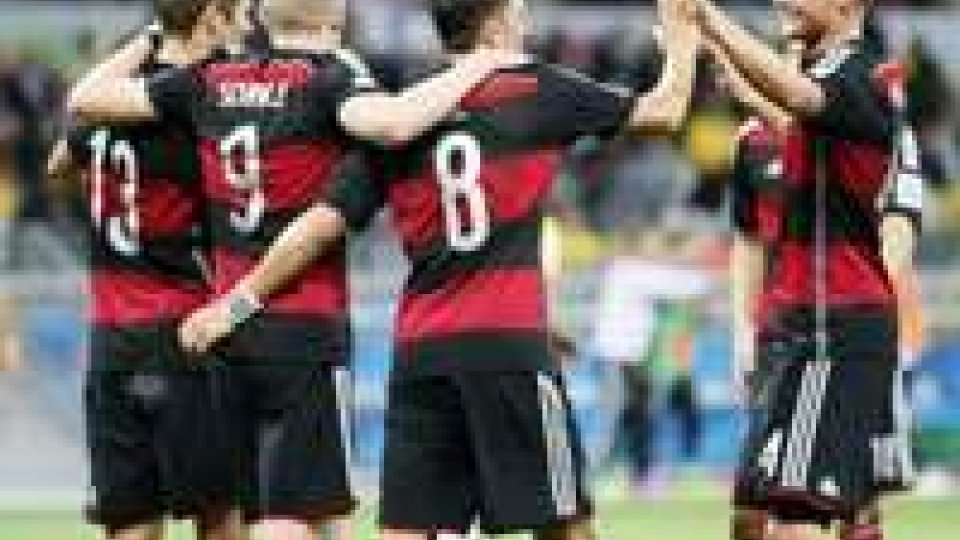 Mondiali: la Germania sgretola il Brasile, clamoroso 7-1