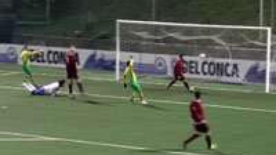 Coppa Titano: un gol di Morelli vale il primo postoCoppa Titano: un gol di Morelli vale il primo posto