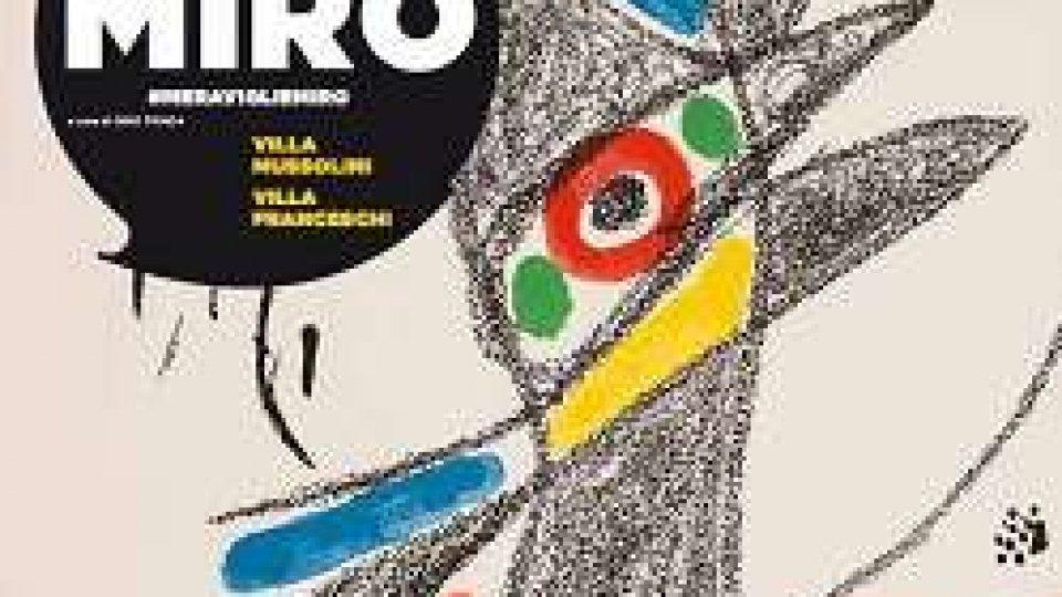 Le meraviglie di Joan Mirò in mostra a Riccione