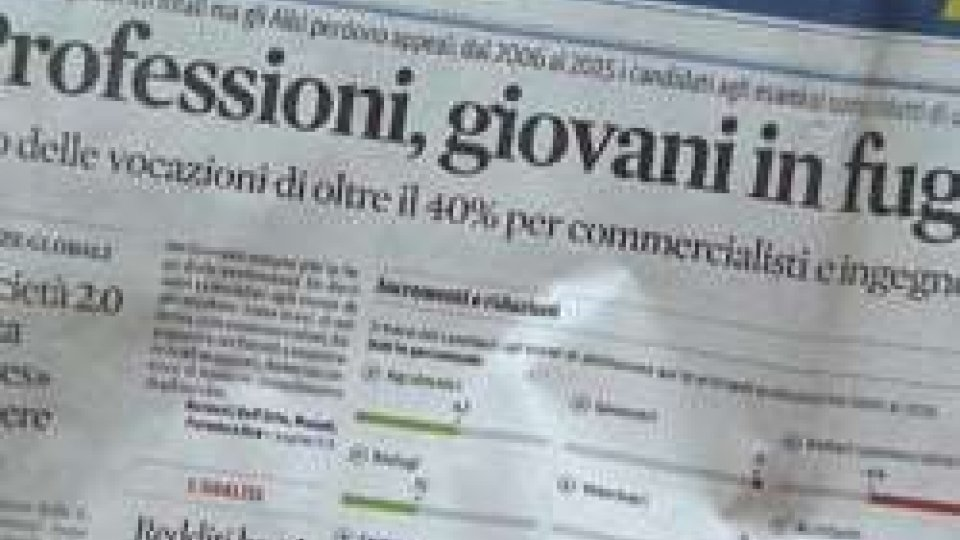 Lavoro: futuro delle libere professioni, appeal in calo in Italia