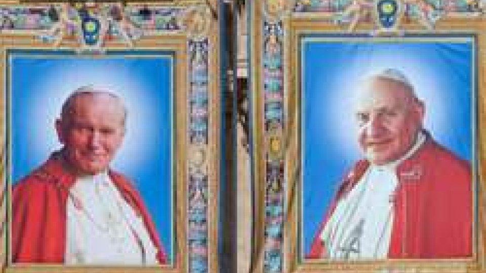 27 aprile 2014: Giovanni Paolo II e Giovanni XXIII diventano santi