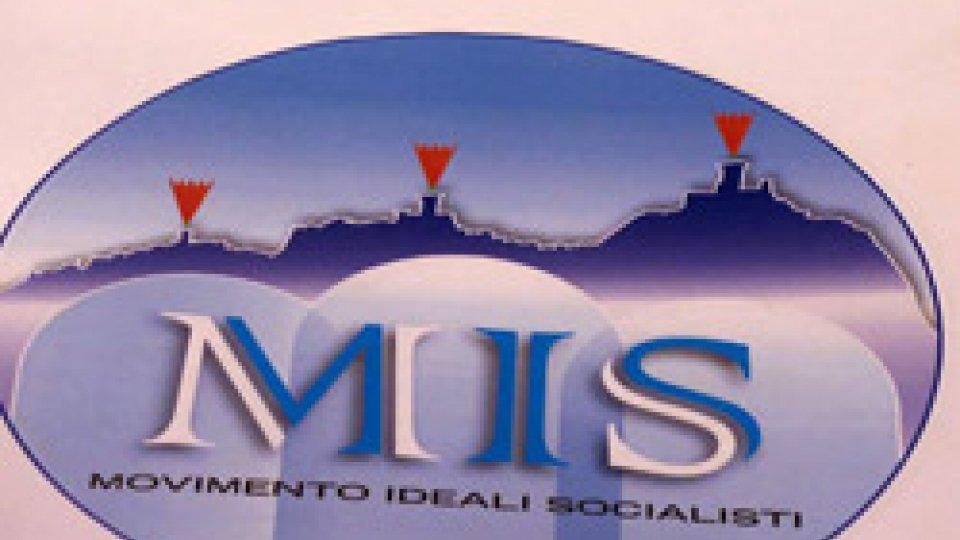 """Logo """"Movimento Ideali Socialisti""""Il """"Mis"""" punta a riaggregare l'area socialista partendo dalla base"""