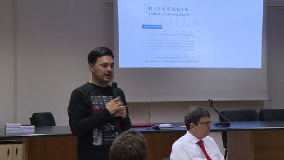 L'eventoUna serata di approfondimento sulla dislessia ieri sera all'ex International di Borgo Maggiore