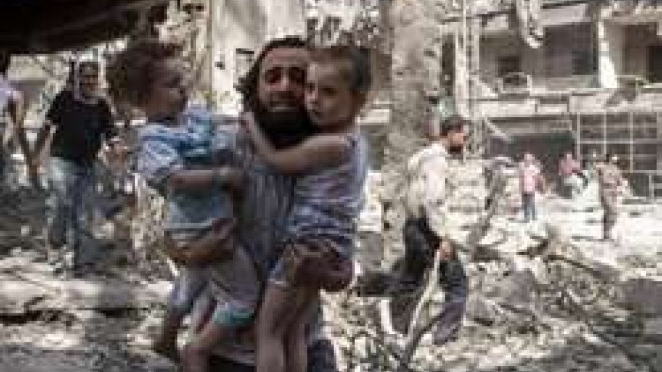 civili ad Aleppo