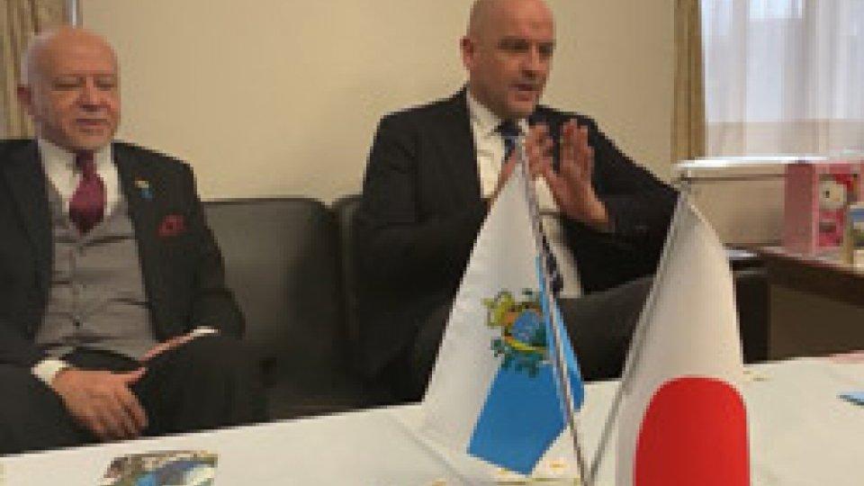 Il Segretario Marco Podeschi prosegue gli incontri in Giappone