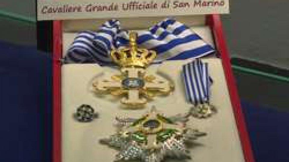 Onorificenze in mostra a Palazzo ValloniOnorificenze in mostra a Palazzo Valloni