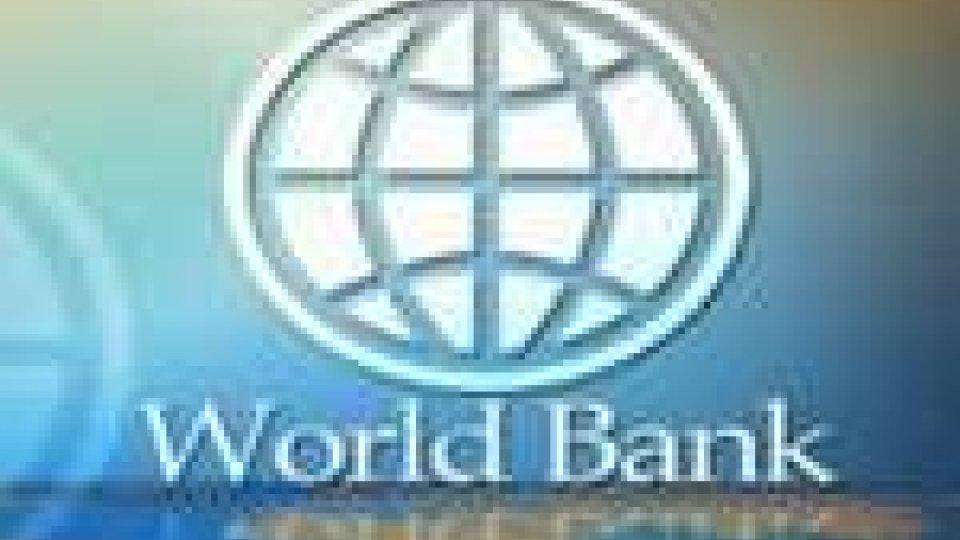 Riviste a ribasso le stime di crescita dalla banca mondiale