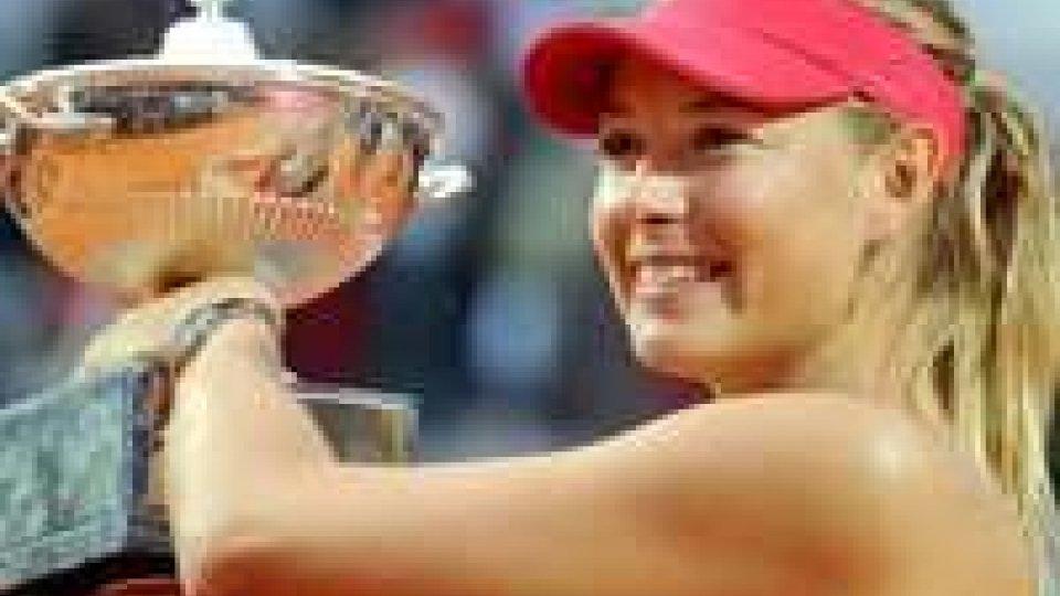 Tennis. Maria Sharapova è la regina di Roma