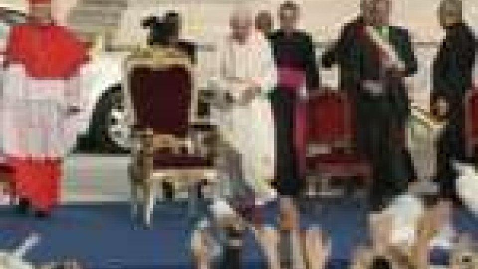 Papa: seconda giornata della visita a Milano