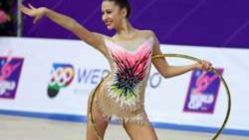 La ginnasta Lucia Castiglioni