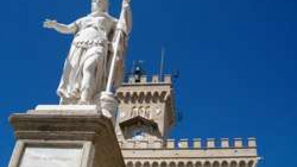 Statua della libertà San Marino