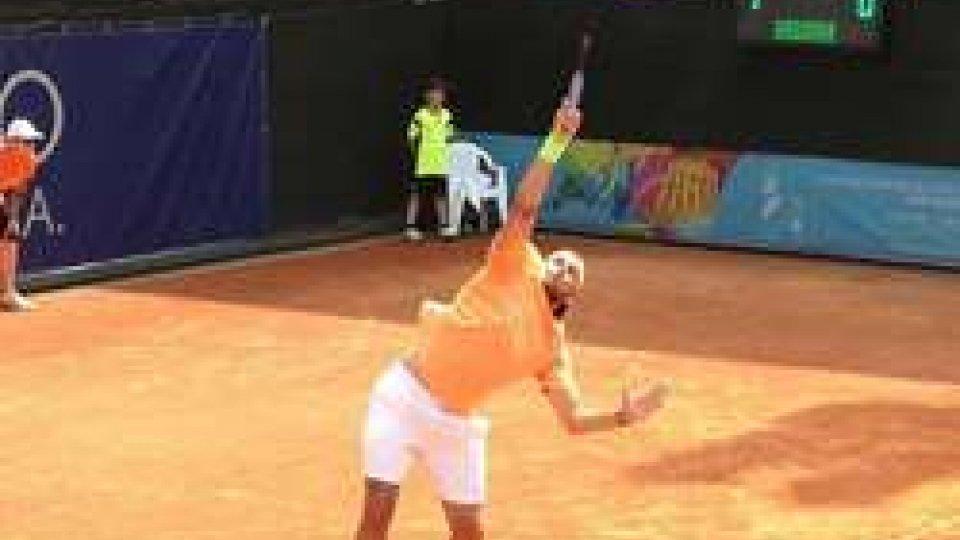 Tennis, ottavi maschili: De Rossi avanza, Grassi fuori