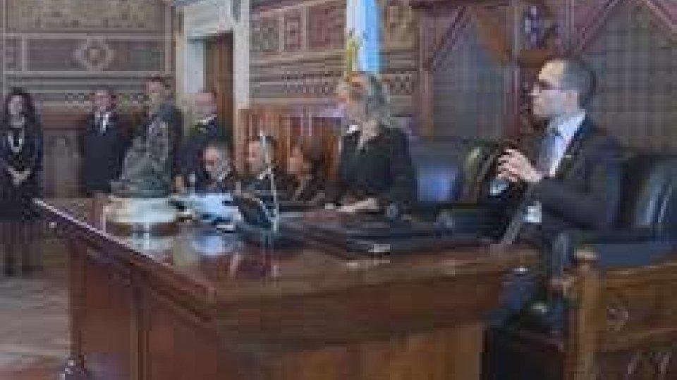 La Consulta in udienzaConsulta: le tensioni si stemperano per l'udienza dei Capitani Reggenti