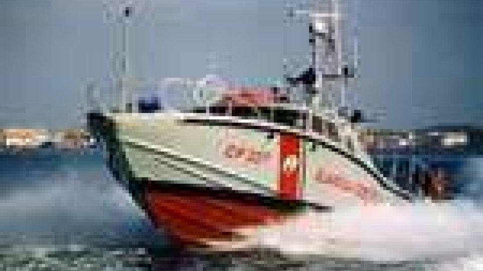 Salvato marinaio a bordo della motopesca Arcadia