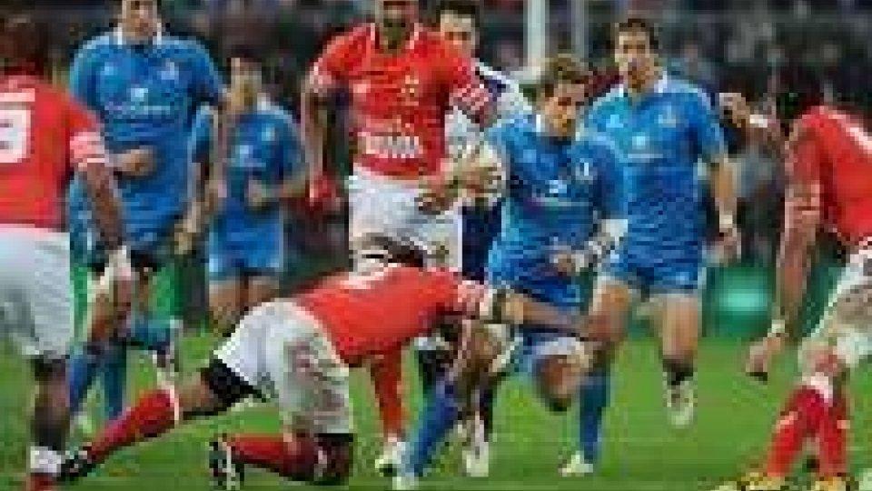 Rugby: ancora ko per l'Italia