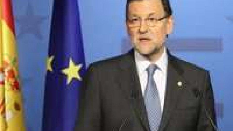 """Spagna: sulla crisi, Rajoy """"La situazione sta migliorando"""""""