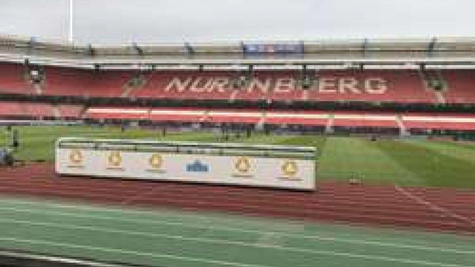 Grundig Stadium di NorimbergaMondiali 2018 : Germania - San Marino per 30 mila