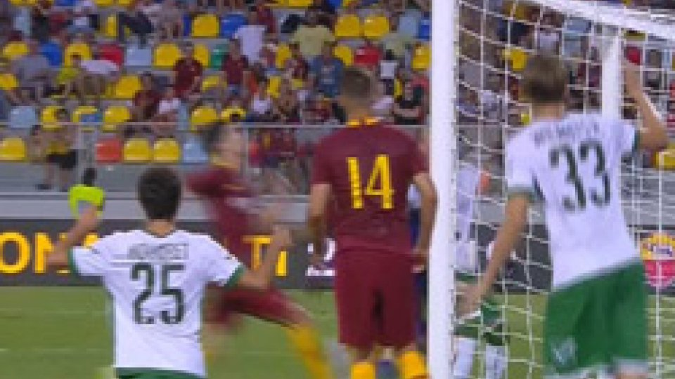 Finisce 1-1Roma-Avellino 1-1, giallorossi beffati nel finale