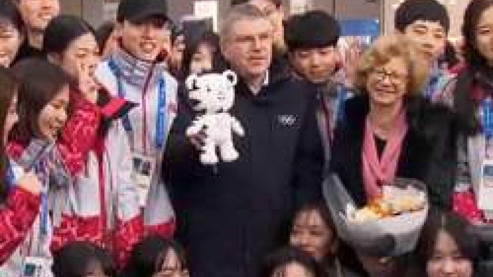 Thomas Bach è già arrivato in Corea