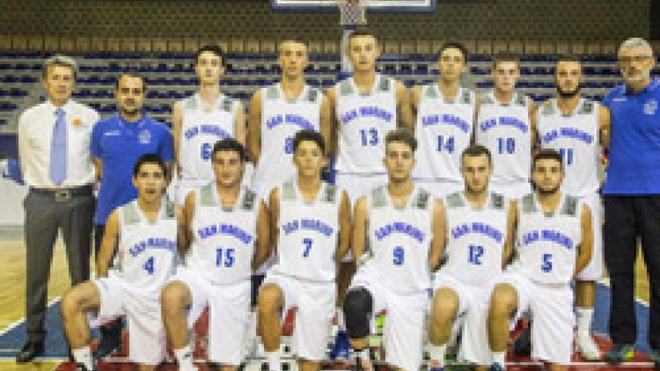 EUROPEI U18 DIVISION C: TITANI INTENSI, MA NON BASTA