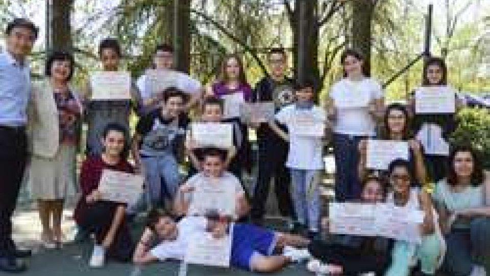 Scuola medie: concluso il laboratorio di lingua e cultura cinese