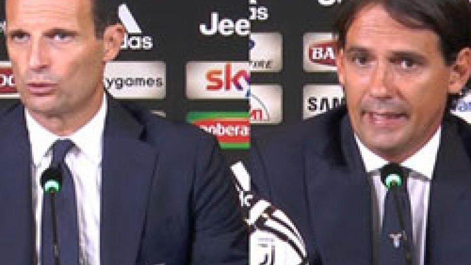 Allegri - InzaghiAllegri: Ora contano le vittorie, Inzaghi: Non possiamo limitarci al compitino