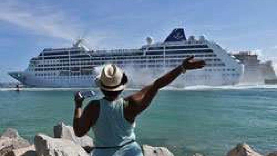 'Storica' crociera da Miami all'Avana