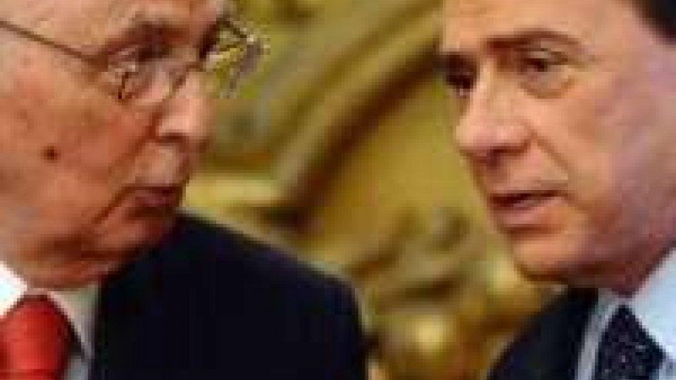 Berlusconi, pressing del Pdl su Napolitano per concedere la grazia