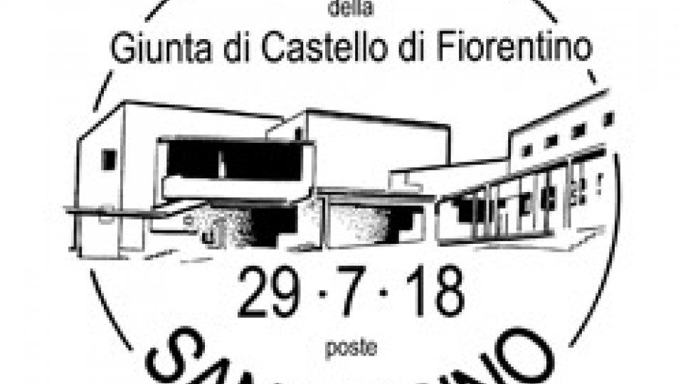 Filatelia: un annullo per l'inaugurazione della nuova sede della Giunta di Fiorentino