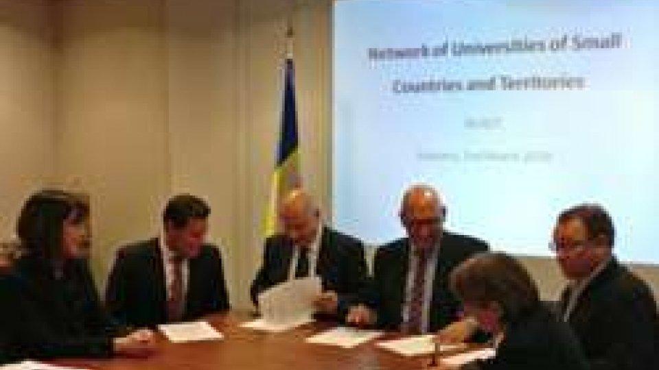 L'Università di San Marino nel Network of Small Countries and Territories