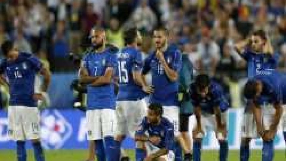 Euro2016: fatali i rigori, l'Italia torna a casa