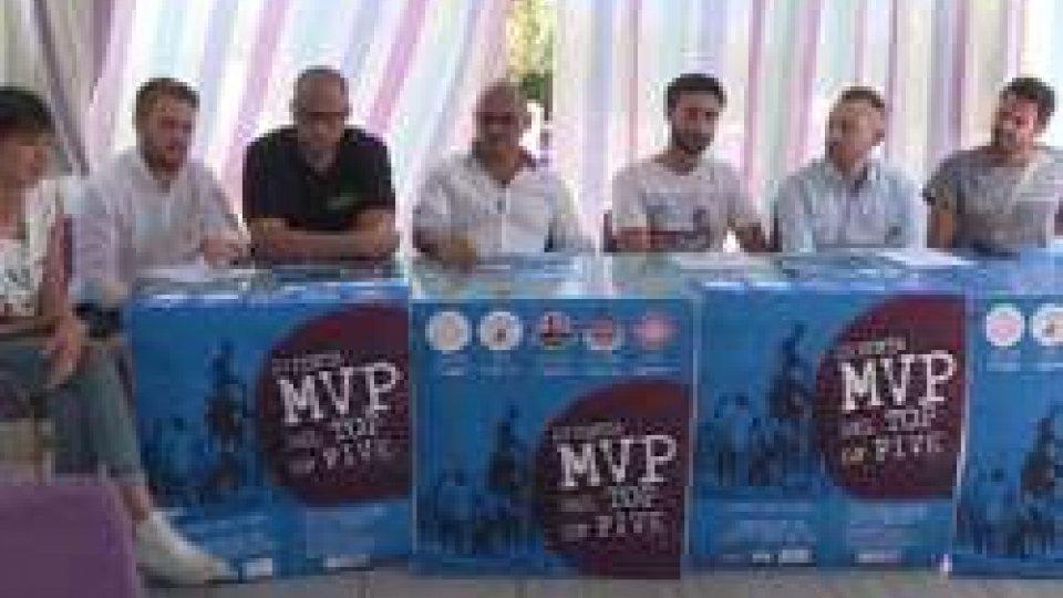 """La presentazione di """"Top of Five""""Basket 3x3, presentato il torneo estivo """"Top of Five"""": tappa anche a San Marino"""