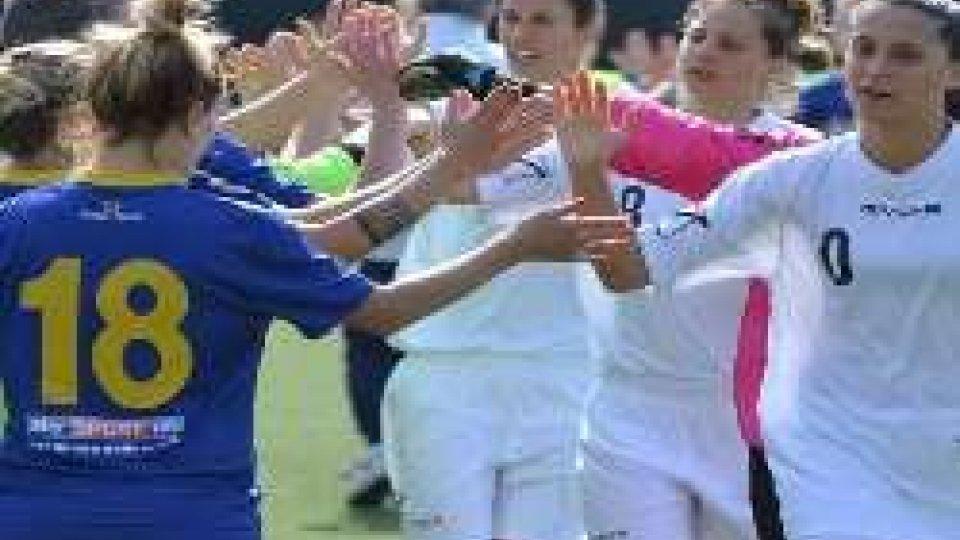 Femminile: Parma - Federazione Sammarinese per la CoppaFemminile: Parma - Federazione Sammarinese per la Coppa