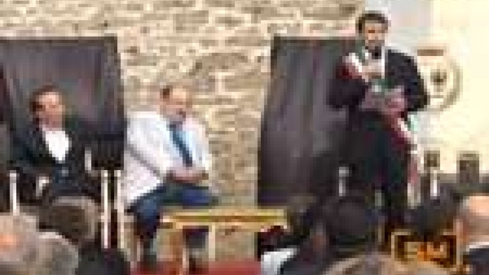 San Leo conferisce la Cittadinanza Onoraria ad Umberto Eco. Presente anche Roberto Benigni