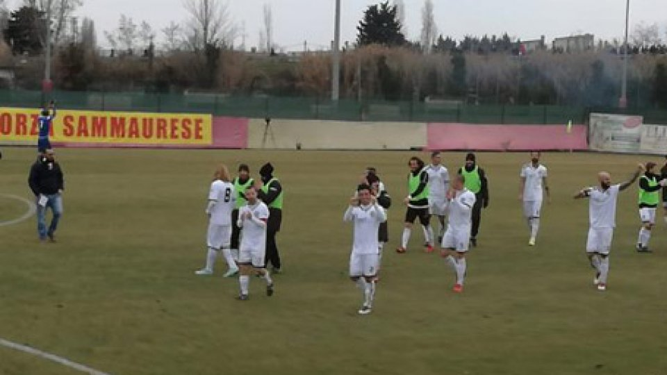 Sammaurese-Cesena 0-2Il derby è del Cesena: 2-0 alla Sammaurese