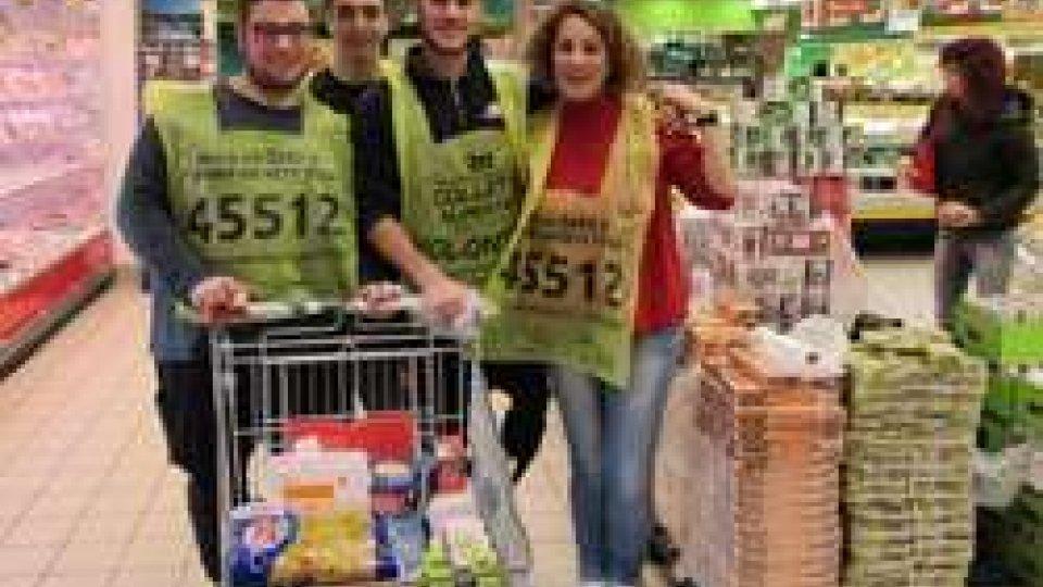 Colletta: a San marino raccolte 13 tonnellate di alimenti